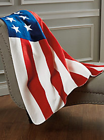 Stars & Stripes Fleece Throw