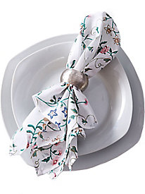 The Kitchen Collection 4-Piece Napkins