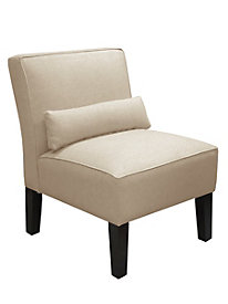 Sophie Armless Chair-Twill