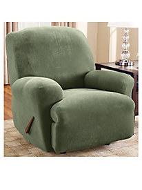Stretch Pique Lift Recliner Slipcover by linensource