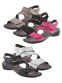 Ros Hommerson Marilyn Cross-Strap Sandals