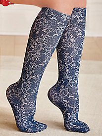 Plus Size Support Like Crazy Compression Knee-High