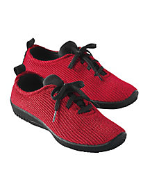 Tie Stretch Knit Shoes