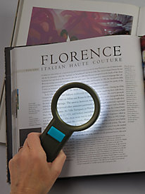 Lighted Handheld Magnifier