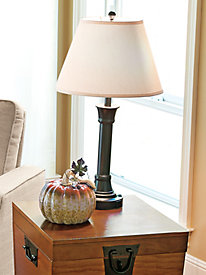 Power Outlet Table Lamp