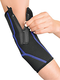 Zippered Compression Elbow Sleeve
