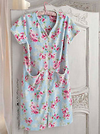 Short-Sleeved Summer Robe - Misses