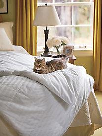 Siberian White Duck Down Comforter - Twin