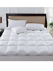 Down Pillowtop Featherbed - Full