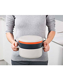 4-Piece Stacking Microwave Cooking Set