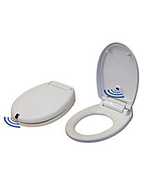 Touch-Free Automatic Toilet Seat