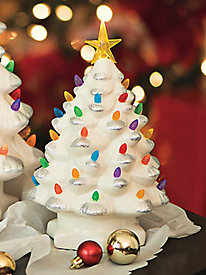 Ceramic Frosted Tree 10