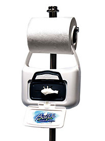 Hanging Flushable Wipes Dispenser