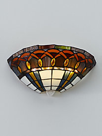 Stained Glass Wireless Sconce