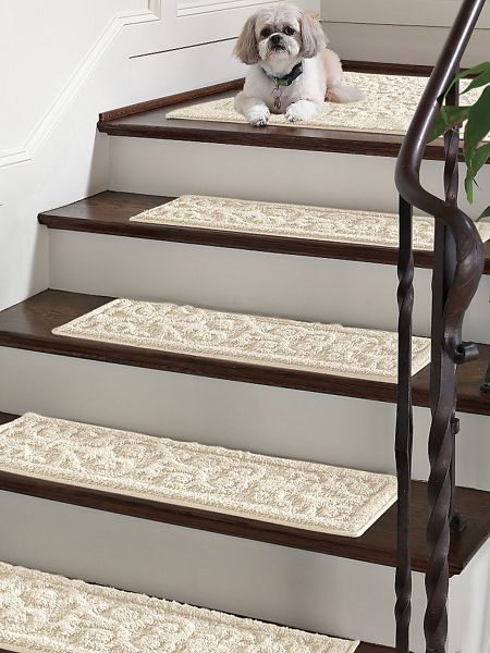 Vista Scroll Stair Treads Set Of 4 Gold Violin
