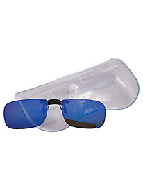 Cocoons® Polarized Mirrored Rectangle Flip-Ups