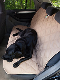 Quilted No-Slip Back Seat Protector