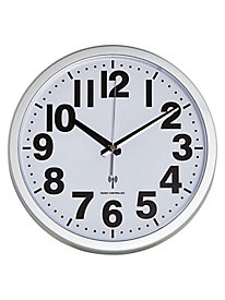 High Visibility Numbers Atomic Analog Wall Clock
