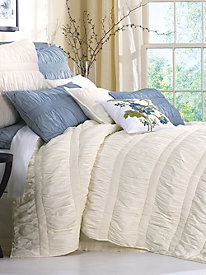 Jenna Ruched Coverlet Collection