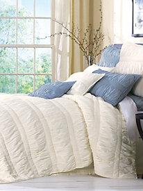 Jenna Ruched Decorative Pillow Sham