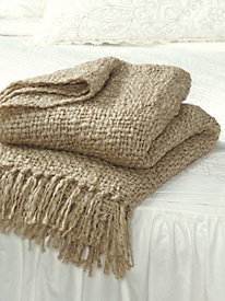 Luxurious Knit Throw by linensource