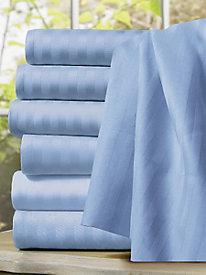 Easy Elegance Shadow-Stripe Duvet Cover