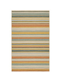 Camden Stripe Wool Rug Collection