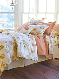 Coral Shells Pillow Sham