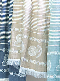 Beach Stripe Throw