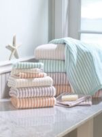 Linea Stripe Towels