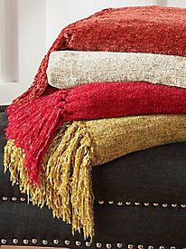Chenille Throw, 50'' x 70''