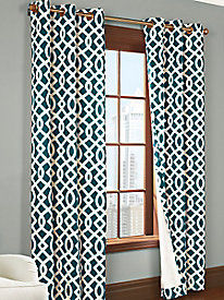 Trellis Print Thermalogic Insulated Panel Pair
