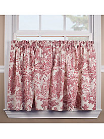 Victoria Park Toile Curtain Collection
