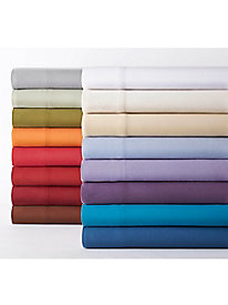 Micro Flannel� Solid Sheet Set