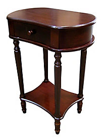 Cherry Wide Side Table