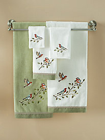 Bird Choir Washcloth