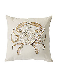 Embellished Sea Life 18'' Decorative Pillows