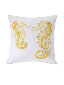 Nautical Embroidered 18'' Pillows