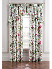 Palace Green Window Valance