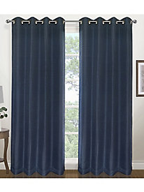 Herringbone Blackout Curtain Panel