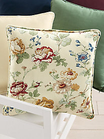 Decorator Coordinates Floral Filled Pillow