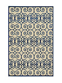 Celtic Swirl Indoor/Outdoor Rug
