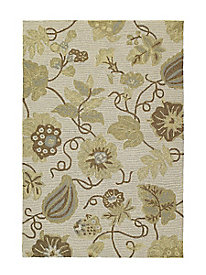 Enchanted Floral Garden Indoor/Outdoor Rug