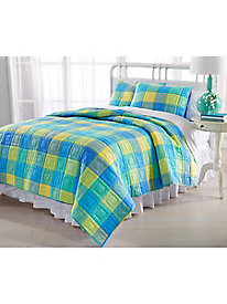 Madras Del Mar Quilt Collection