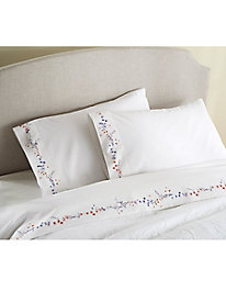 Swirling Wildflower Sheet Set