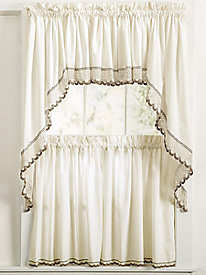 Crochet Trim Curtains