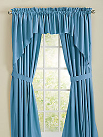 Microfiber Foam-Back Curtain Collection