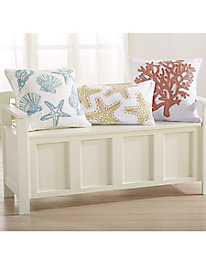 Coastal Elegance Decorative Pillows