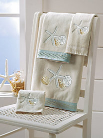 Seaglass Towel Collection