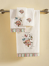 Butterfly Garden Towel Collection